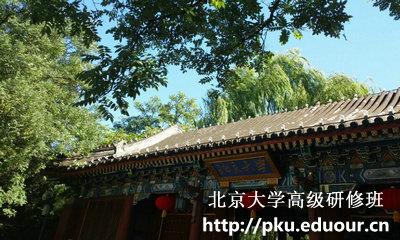 北京大学工商管理研修班属于什么学位